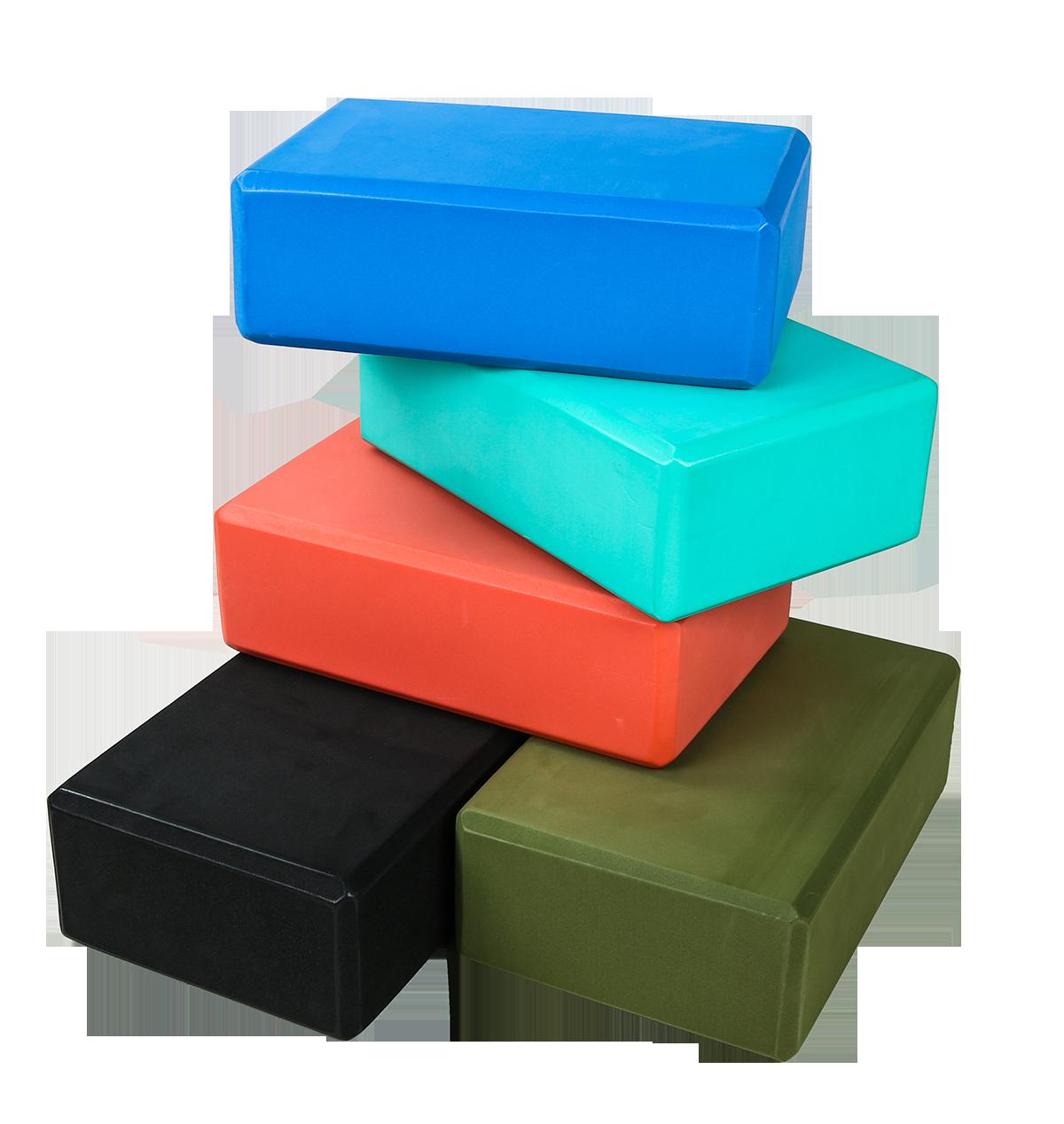 آجر بلوک فوم EVA ، بلوک های یوگا آجرهای کف باعث ایجاد ثبات و تعادل برای ورزش ، پیلاتس ، تمرین ، تناسب اندام ، سالن بدن سازی (1)