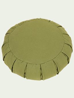 green meditation cushion-1